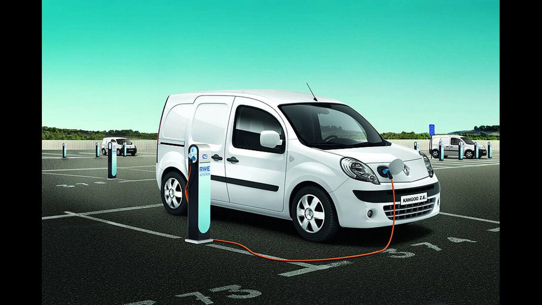 Renault Kangoo Rapid Z.E., Elektroauto