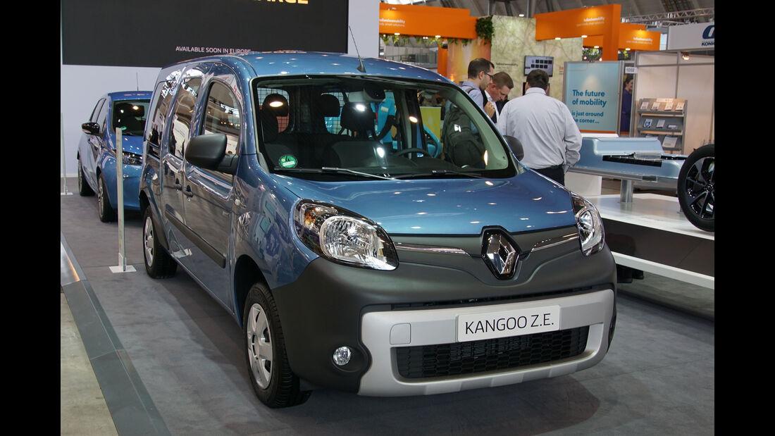 Renault Kangoo Z.E. - Electric Vehicle Symposium 2017 - Stuttgart - Messe - EVS30