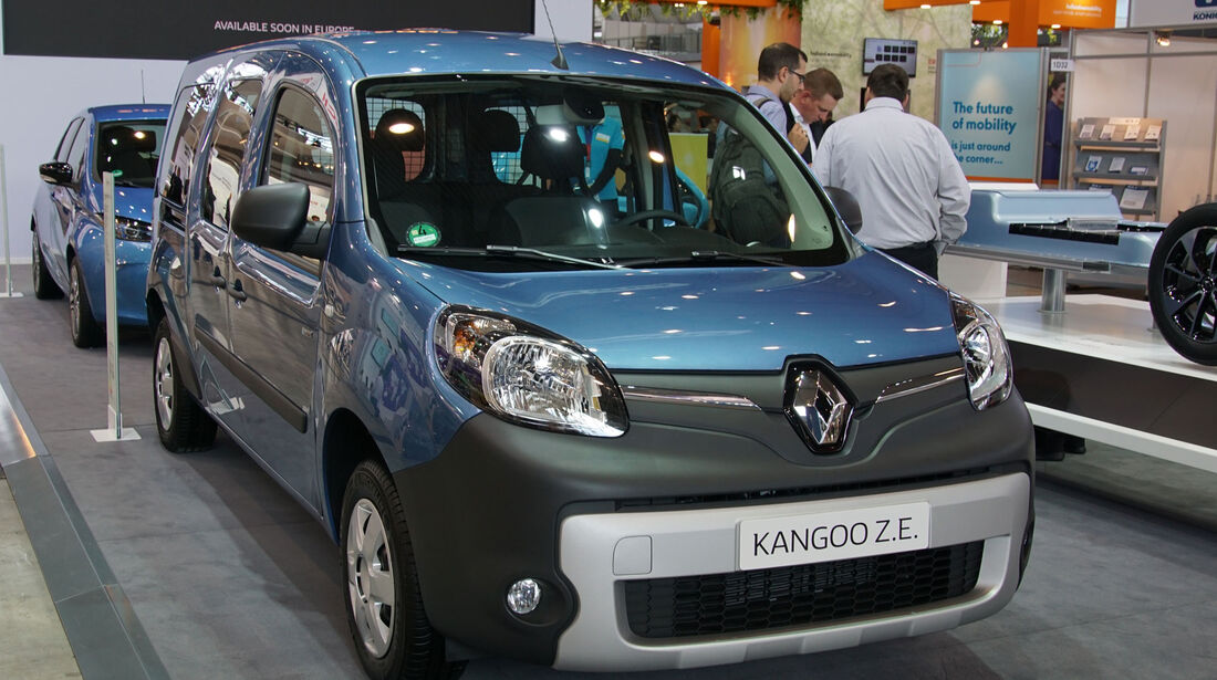 Renault Kangoo Z.E. - Electric Vehicle Symposium 2017 - Stuttgart - Messe - EVS30