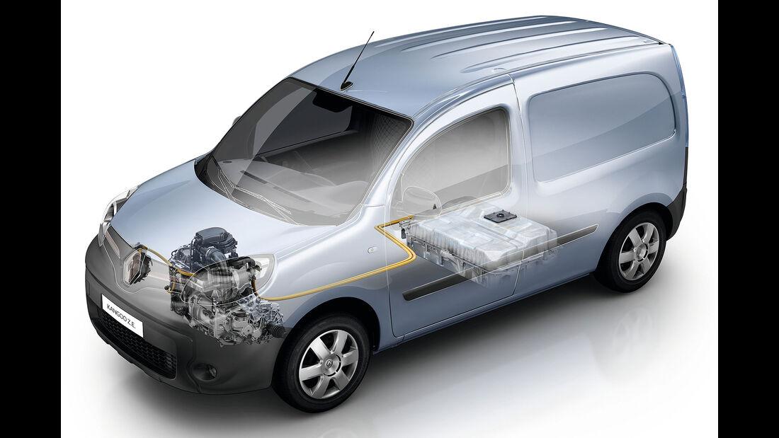 Renault Kangoo Z.E. mit mehr Reichweite