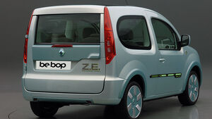 Renault Kangoo bebop Z.E., Elektro-Studie 2009