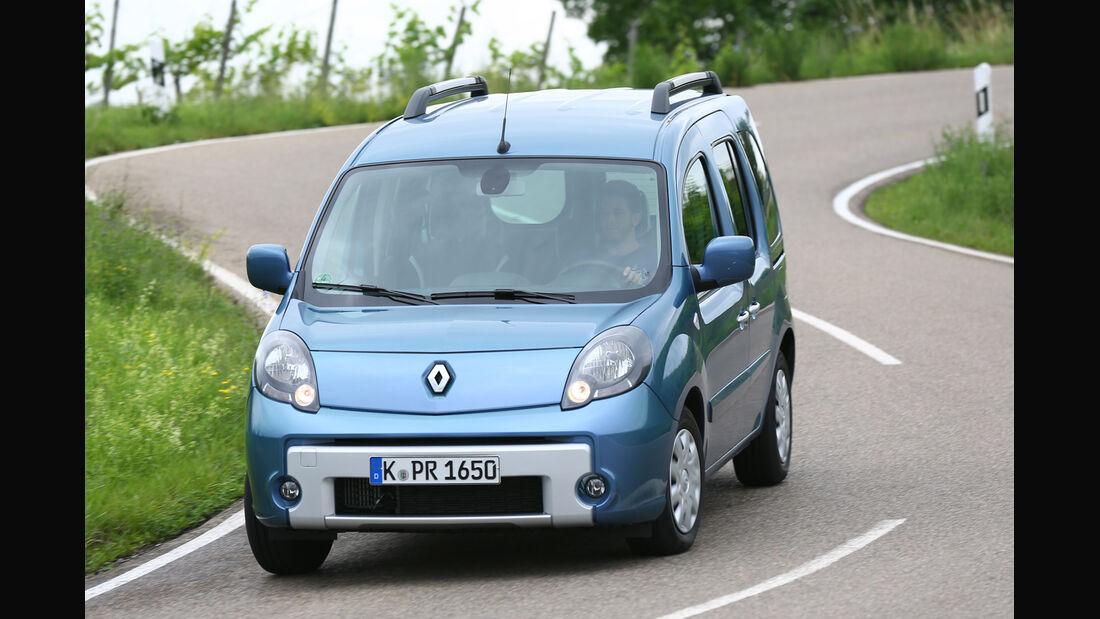 Renault Kangoo dCi 85, Frontansicht