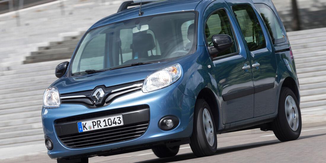 Renault Kangoo dCi 90 Energy, Frontansicht