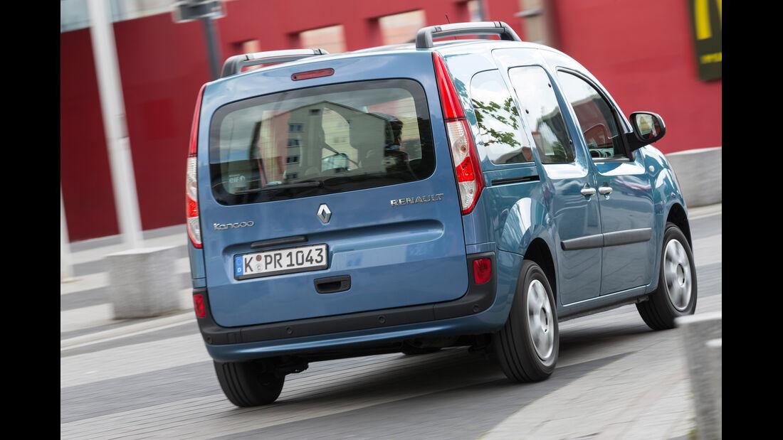 Renault Kangoo dCi 90 Energy, Heckansicht