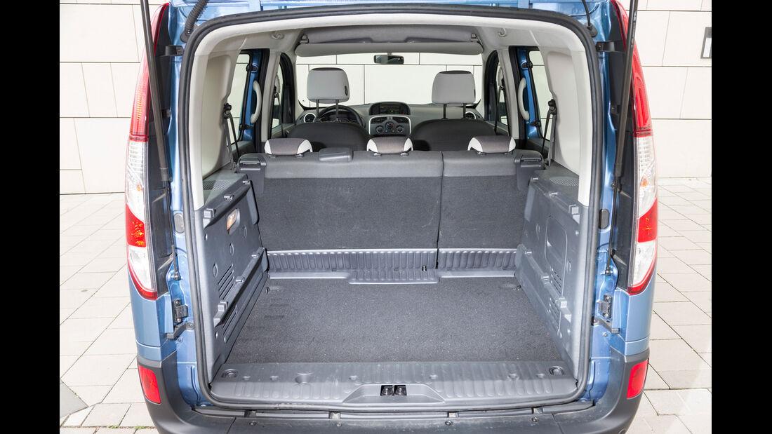 Renault Kangoo dCi 90 Energy, Kofferraum, Ladefläche