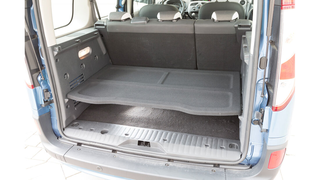 Renault Kangoo dCi 90 Energy, Ladekante