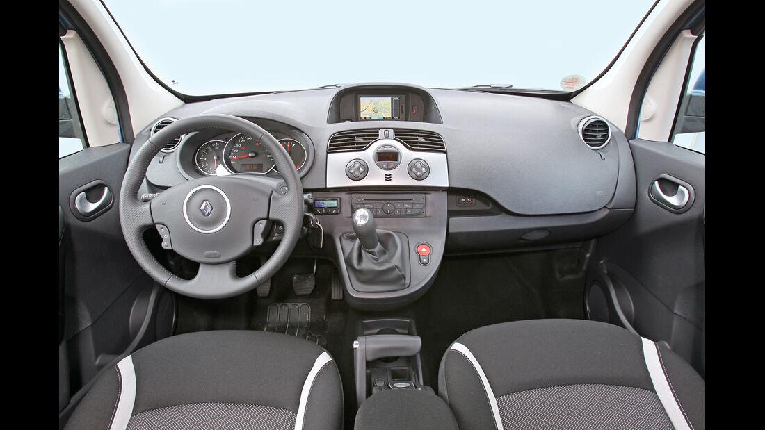 Renault Kangoo dCi 90 energy, Cockpit, Lenkrad