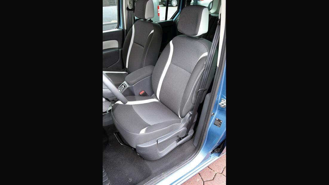 Renault Kangoo dCi 90 energy, Fahrersitz