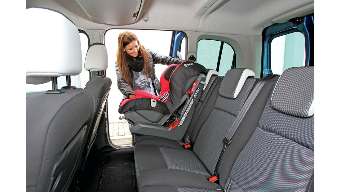 Renault Kangoo dCi 90 energy, Rückbank, Babysitz