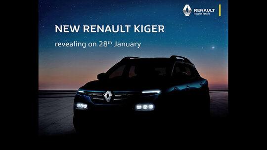 Renault Kiger Teaser
