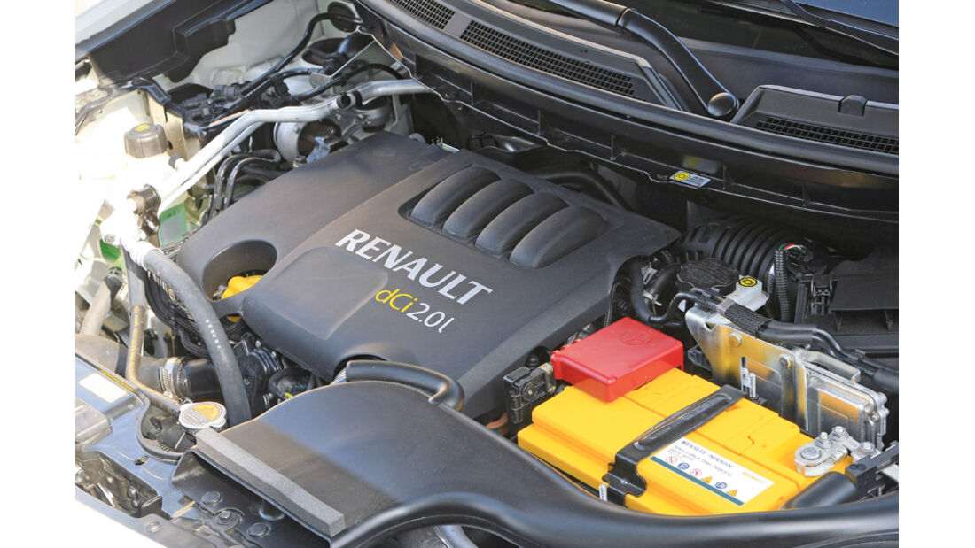 Renault Koleos, Motor
