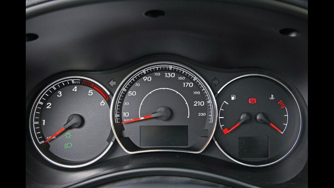 Renault Koleos, Rundinstrumente