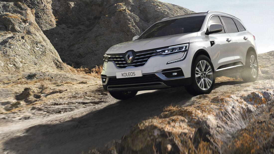 Renault Koleos SUV Modellpflege 2020