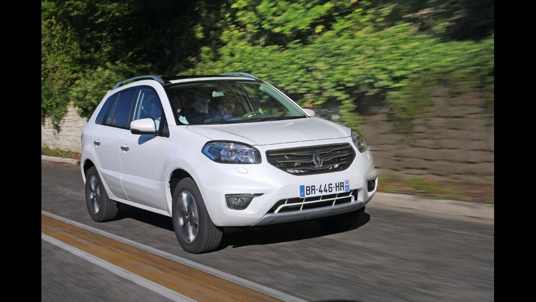Renault Koleos, Seitenansicht, Front