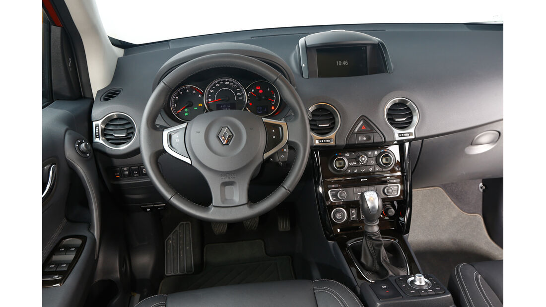 Renault Koleos dCi 175 4x4, Cockpit