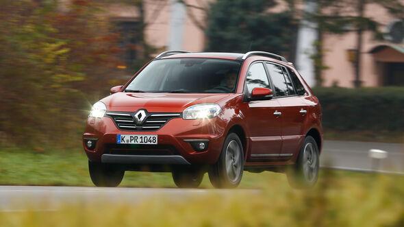 Renault Koleos dCi 175 4x4, Frontansicht
