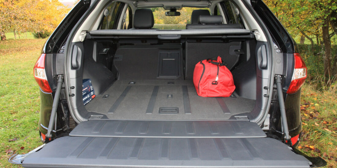 Renault Koleos dCi 175, Kofferraum