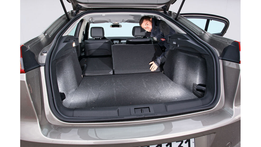 Renault Laguna Energy dCi 150, Ladefläche, Kofferraum