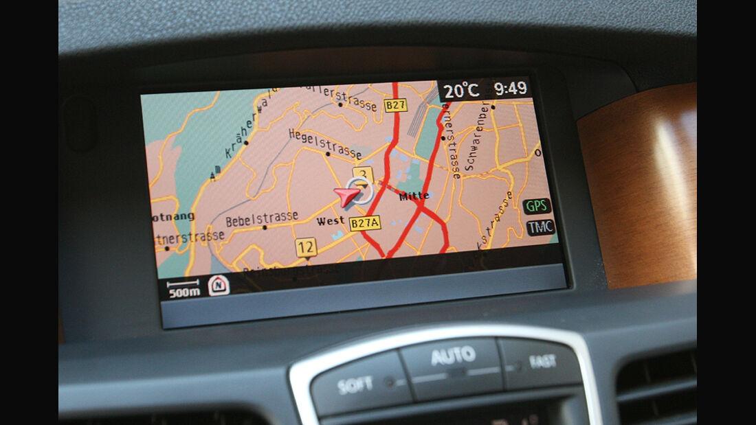 Renault Laguna Grandtour 2.0 T, Navigationssystem