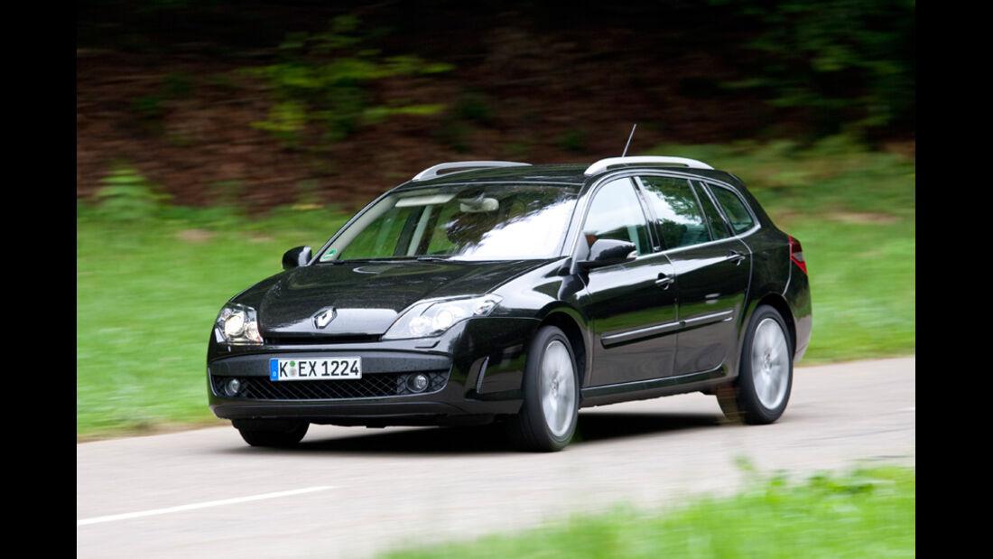 Renault Laguna Grandtour, Front
