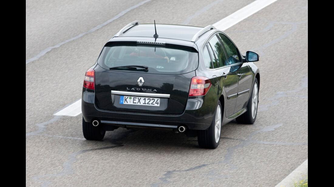 Renault Laguna Grandtour, Heck