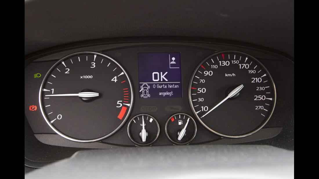 Renault Laguna Grandtour, Instrumente