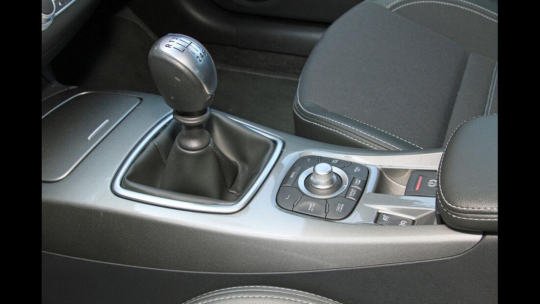 Renault Laguna Grandtour dCi 150, Schalthebel. Schaltknauf