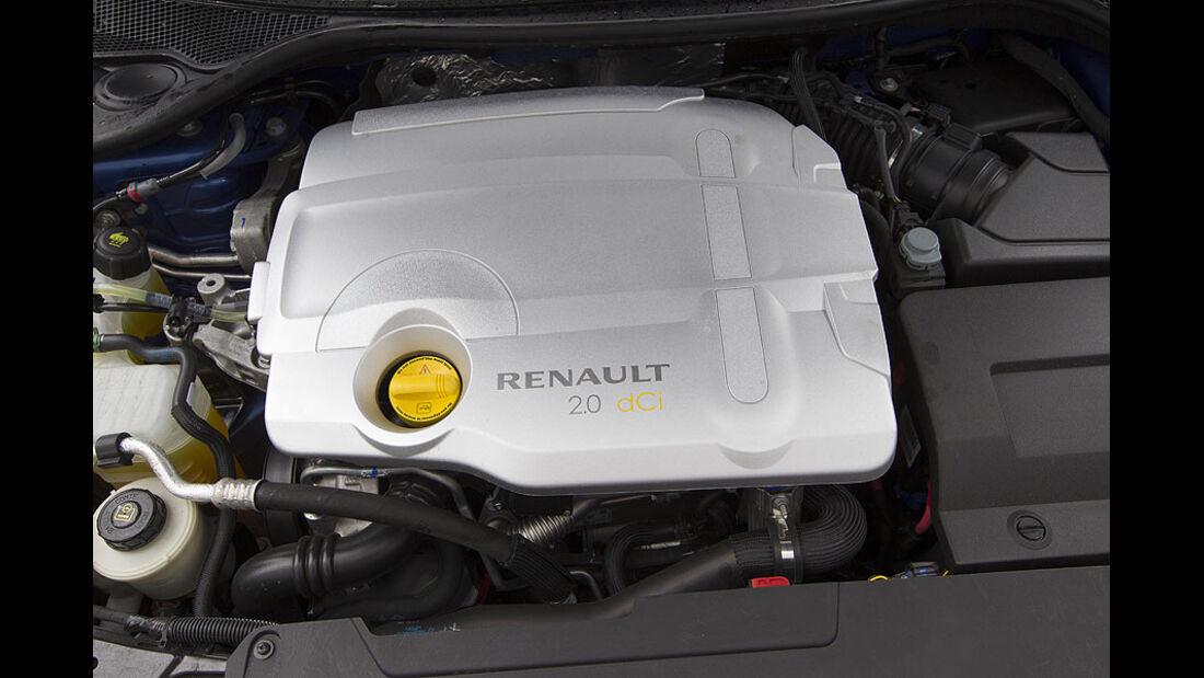 Renault Laguna Motorraum