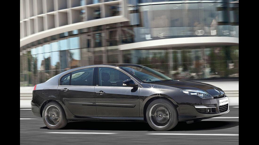 Renault Laguna, Seitenansicht
