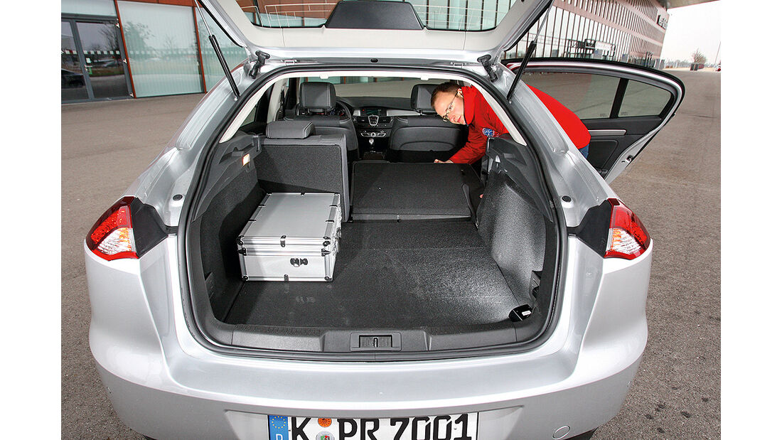 Renault Laguna dCi 110 FAP, Kofferraum