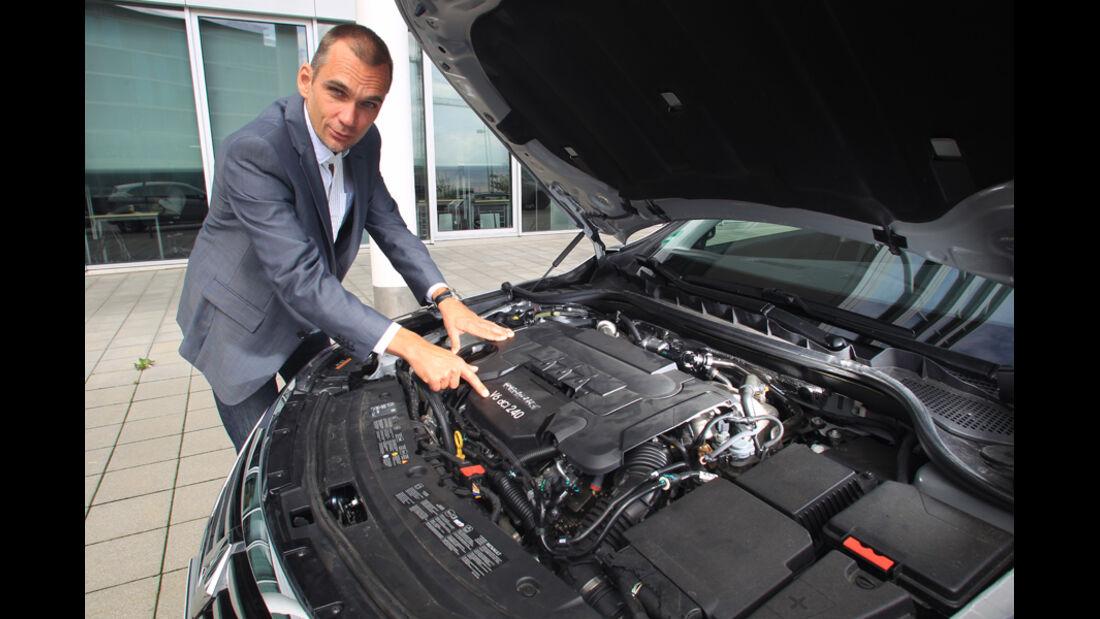 Renault Latitude, Motor