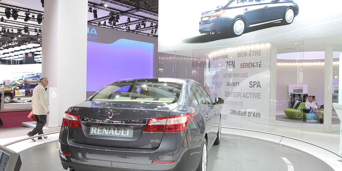 Renault Latitude, Paris 2010