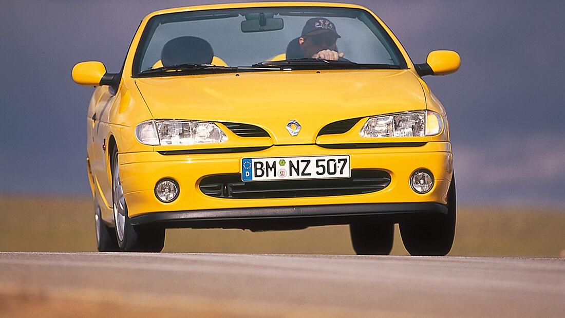 Renault Mégane Cabrio, Frontansicht
