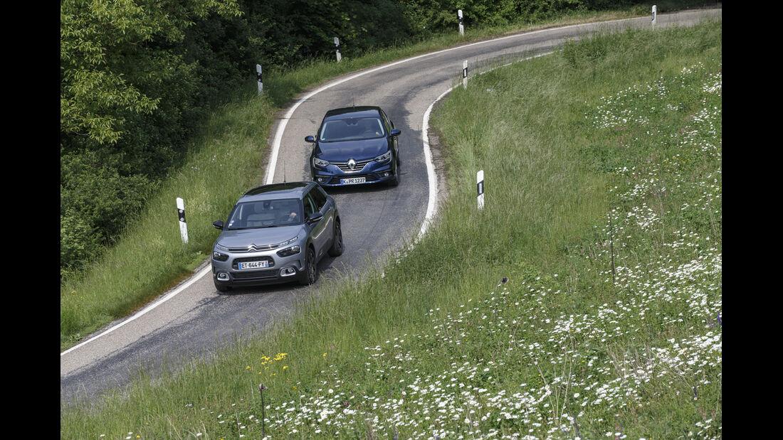 Renault Mégane,  Citroën C4 Cactus, Exterieur