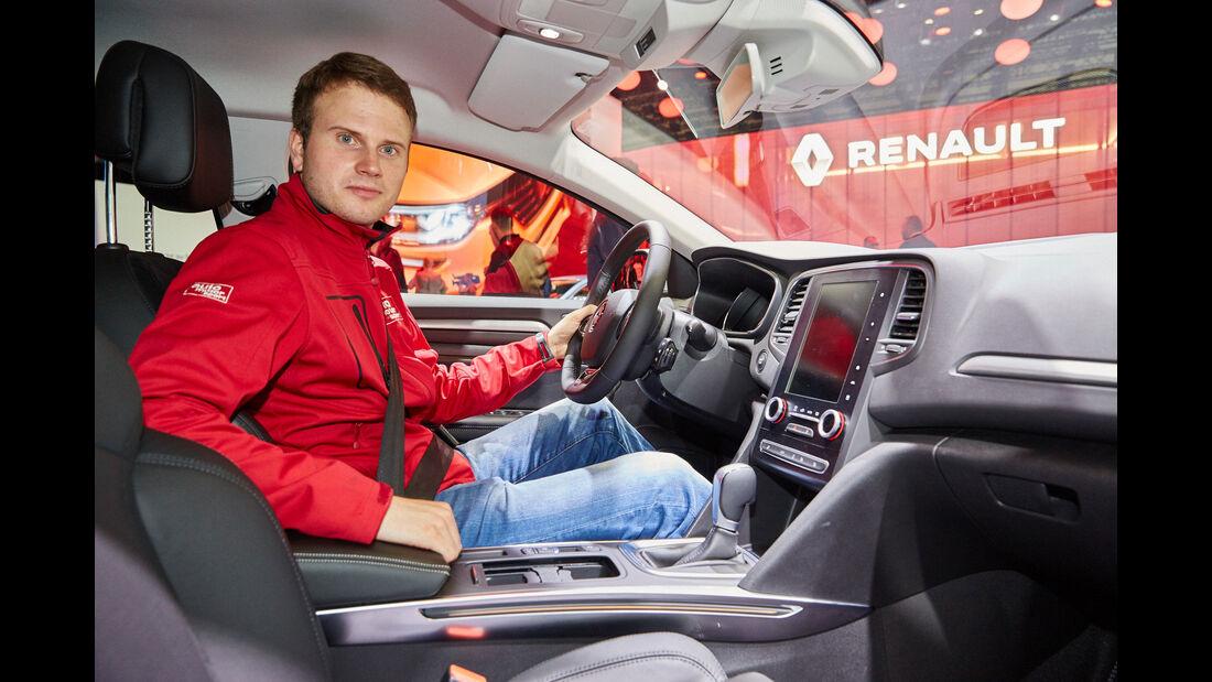 Renault Mégane - Cockpit - IAA 2015