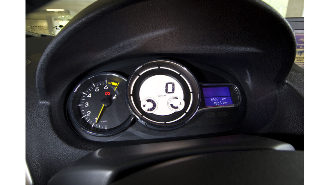 Renault Mégane Coupé Armaturen