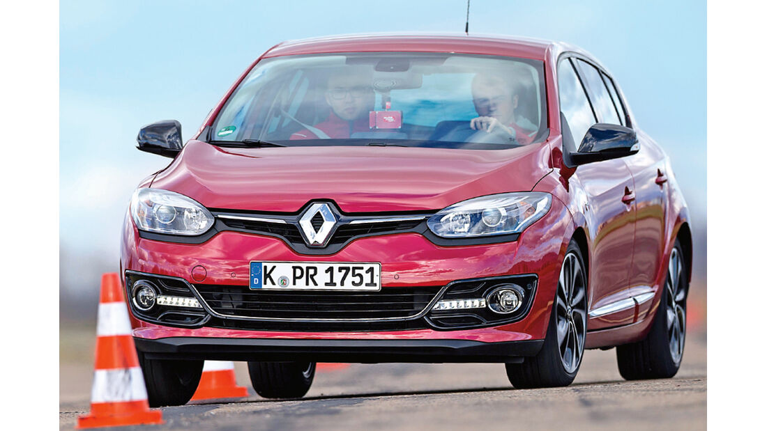 Renault Mégane Energy TCe 130, Frontansicht