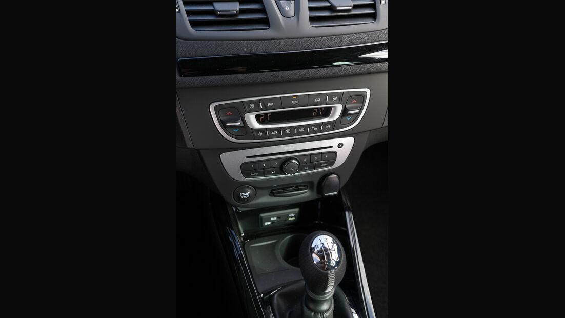 Renault Mégane Energy TCe 130, Mittelkonsole