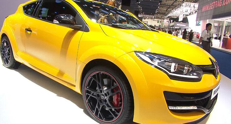 Renault Mégane Facelift 2013 IAA