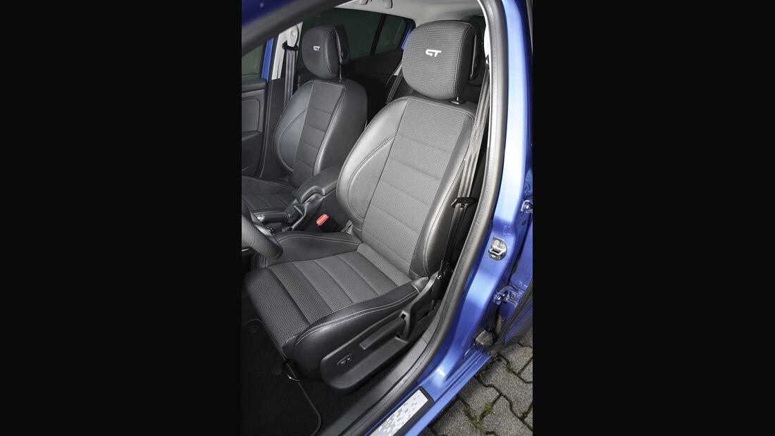 Renault Mégane, Fahrersitz