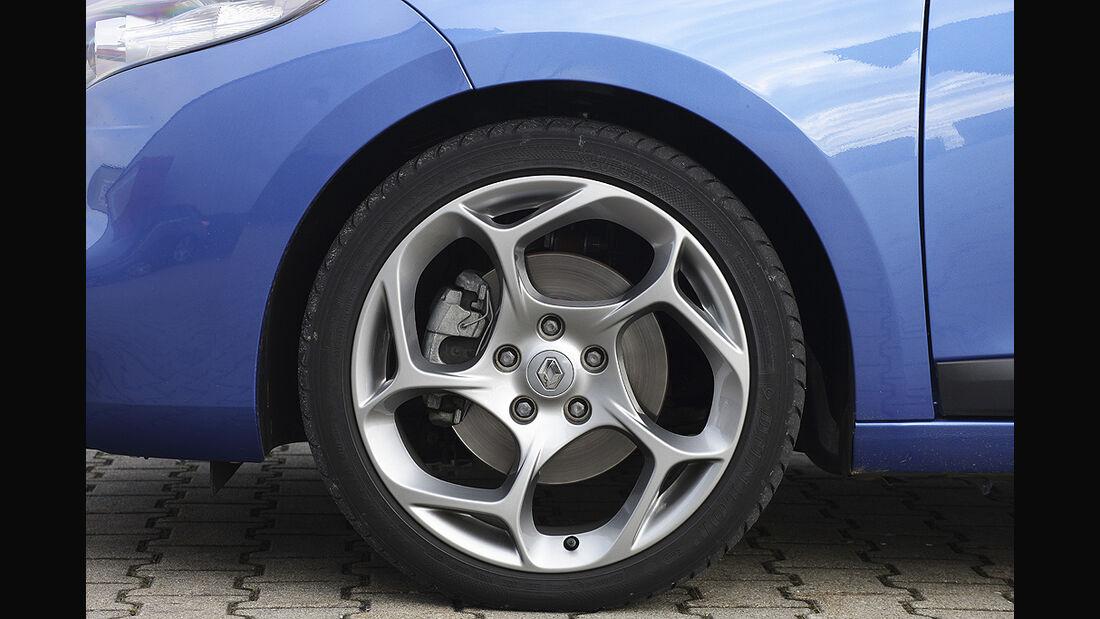 Renault Mégane, Felge