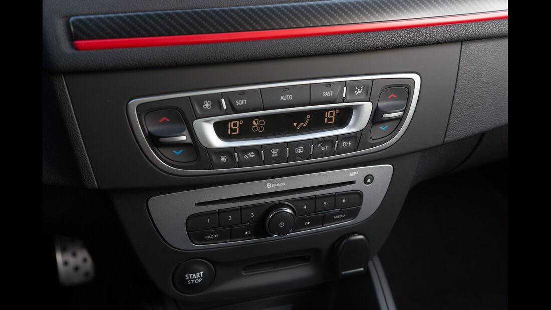 Renault Mégane GT, Bedienelemente