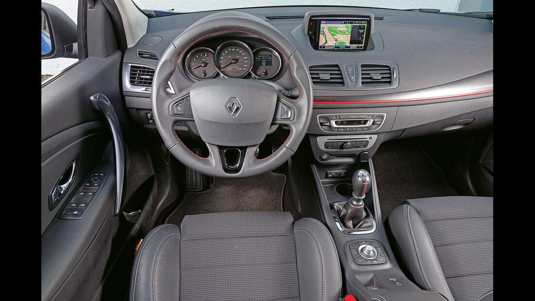 Renault Mégane GT, Cockpit