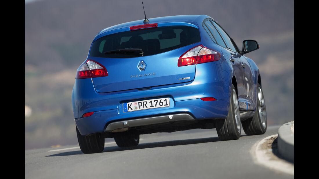 Renault Mégane GT, Heckansicht