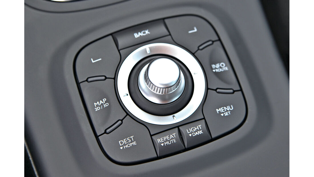 Renault Mégane Grandtour Energy dCi 110, Bedienelement