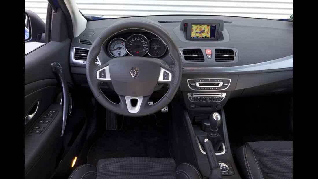 Renault Mégane Grandtour GT, Cockpit, Lenkrad