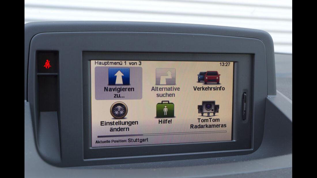 Renault Mégane Grandtour GT, Navigationssystem