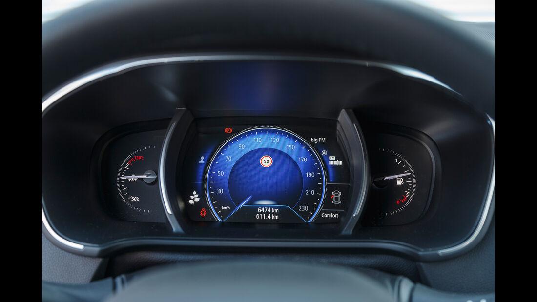 Renault Mégane Grandtour TCe 130, Anzeigeinstrument