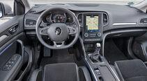 Renault Mégane Grandtour TCe 130, Cockpit