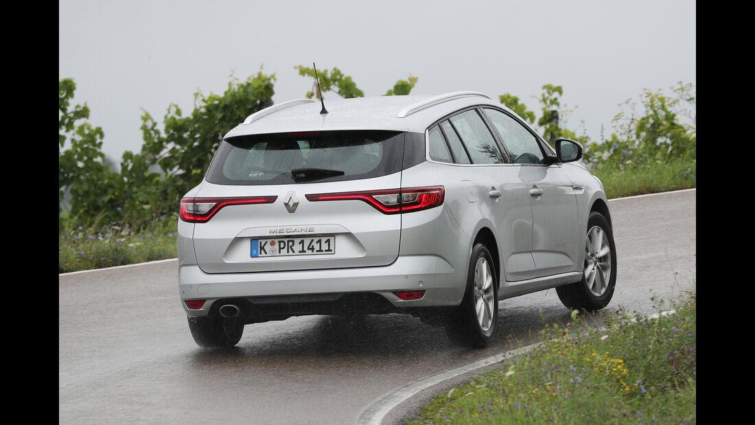 Renault Mégane Grandtour Tce 130, Heck